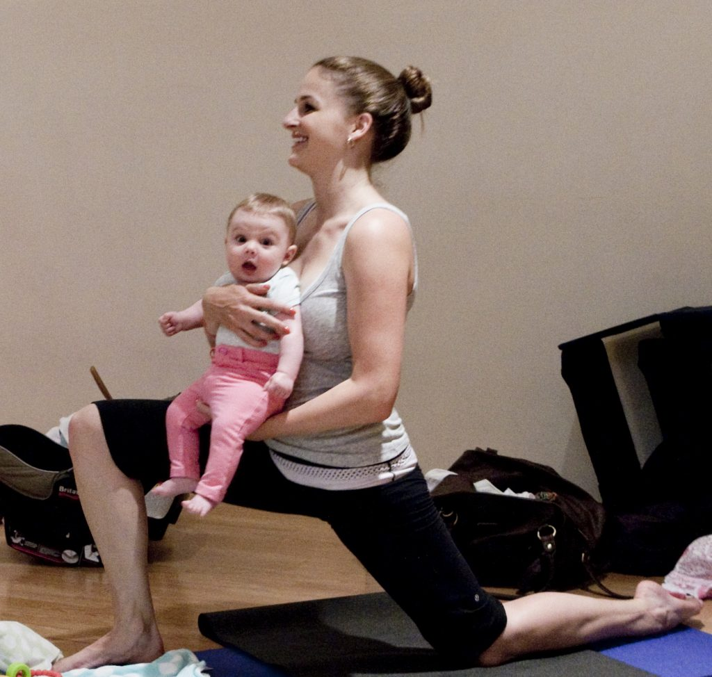 In-Person Postnatal Yoga with Babies